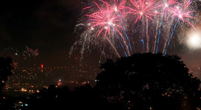 Caracas Fireworks