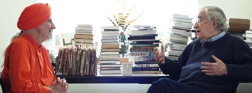 Noam Chomsky and Dada Maheshvarananda