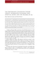 THE PROGRESSIVE UTILIZATION THEORY (PROUT) in WorkingUSA