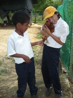 Centro Madre School visit