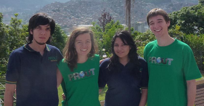 Angelo Hernandez (Venezuela), Barley Colello (USA), Mariela Mosquera (Ecuador), Sascha Bercovitch (USA)
